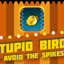 Stupid Birds – Avoid the spikes