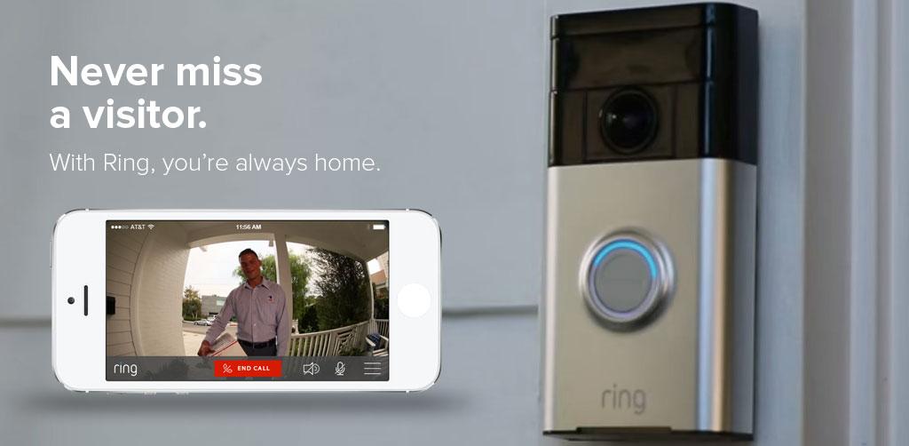 Digifun Studios Ring Video Doorbell For Your Smartphone