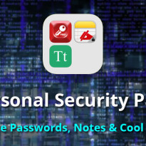 Personal Security Pack – Secure Passwords, Notes & Cool Fonts